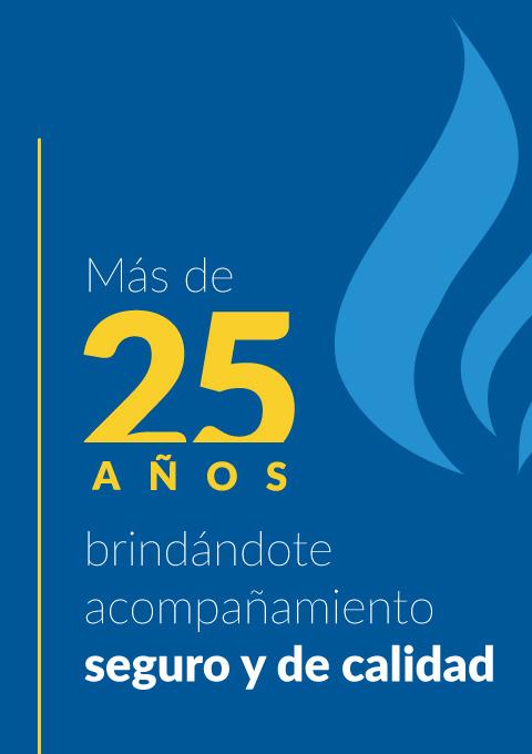 Banner más de 25 años